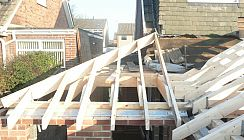 Roof Extension Before